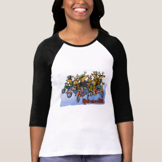 """Rebels without a Claus"" Ladies Tee Shirt"