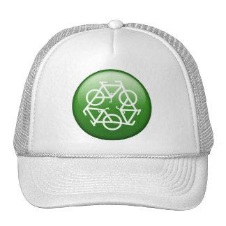 ReBicycle Green Mesh Hats