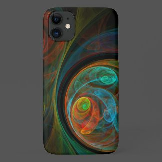 Rebirth Abstract Art Case-Mate iPhone Case