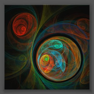 Rebirth Abstract Art Photo Print