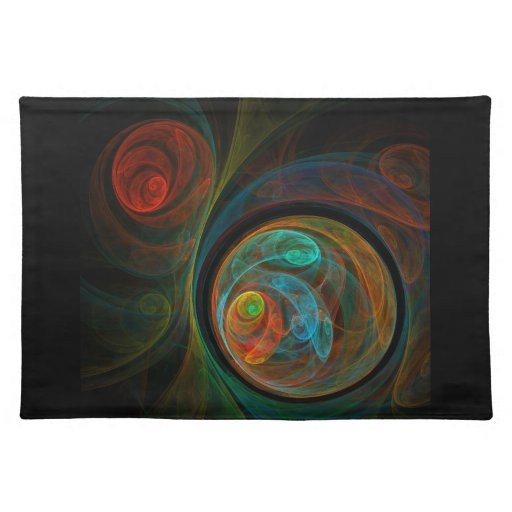Rebirth Abstract Art Placemat