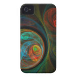 Rebirth Blue Abstract Art iPhone 4 / 4S iPhone 4 Cover