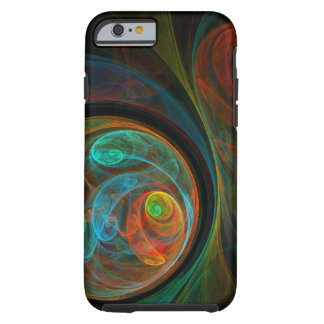 Rebirth Blue Abstract Art iPhone 6 Case