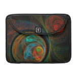 Rebirth Blue Abstract Art Macbook Pro Sleeves For MacBooks