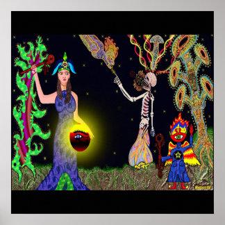 Rebirth Ceremonia Poster