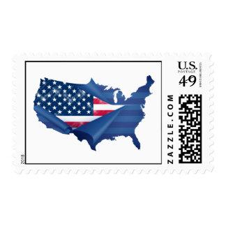 Rebirth of America Postage