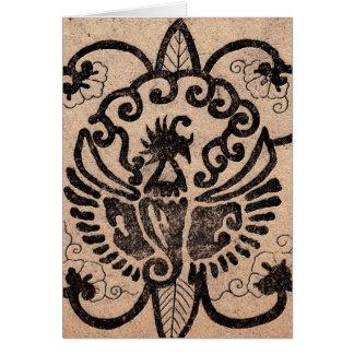 Rebirth of the Phoenix Greeting Card
