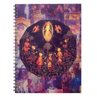 Rebirth of Venus 2.0 Spiral Notebooks
