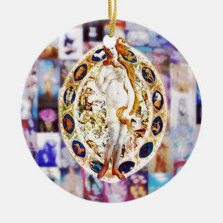 Rebirth of Venus Ceramic Ornament