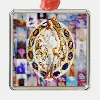 Rebirth of Venus Metal Ornament