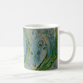 Rebirth paper classic white coffee mug