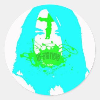 rebirthed sticker