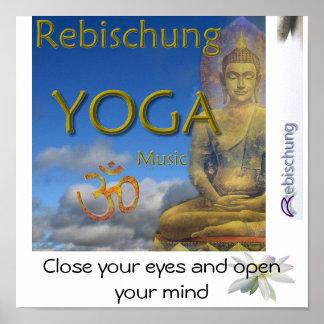 Rebischung Yoga Poster