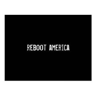 reboot america postcard