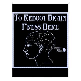 Reboot Brain Postcard