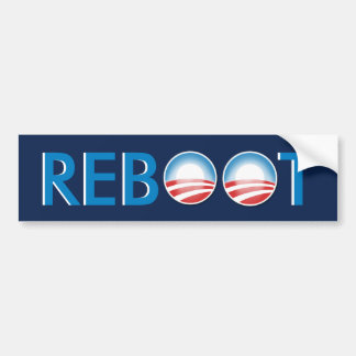 Reboot Bumper Sticker