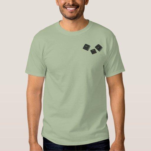 Reboot Computer Keys Tshirt