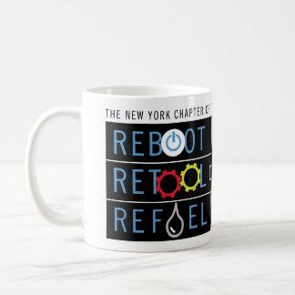 Reboot, Retool & Refuel Mug