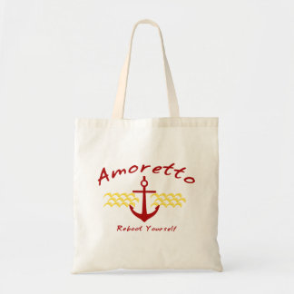 Reboot Yourself Eco Bag red color