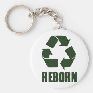 Reborn Basic Round Button Keychain