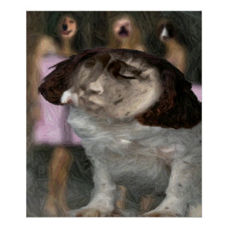 REBORN IN DOG LAND - THE KING POSTERS