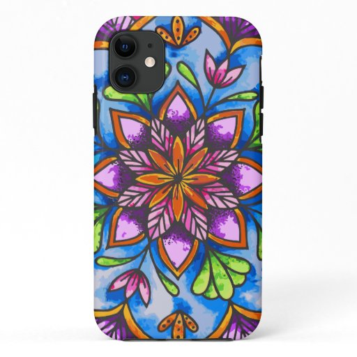 Reborn Mandala iPhone 11 Case
