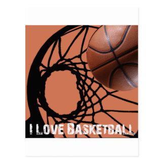 Rebote de ILoveBasketball Tarjeta Postal