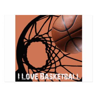 Rebote de ILoveBasketball Tarjetas Postales