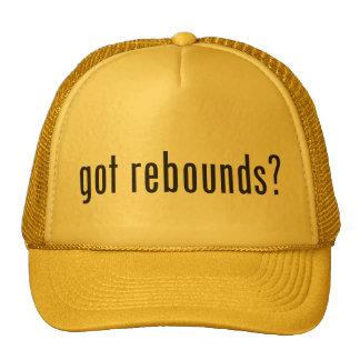 ¿rebotes conseguidos? gorra