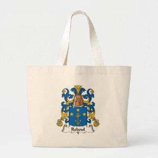 Reboul Family Crest Canvas Bags