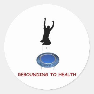 Rebounding (male) sticker