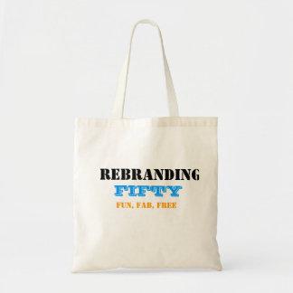 Rebranding 50 tote bag