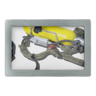 Rebreather012915.png Rectangular Belt Buckle