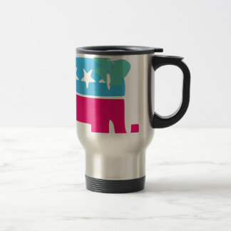 Rebublican Elephant with bow Mugs