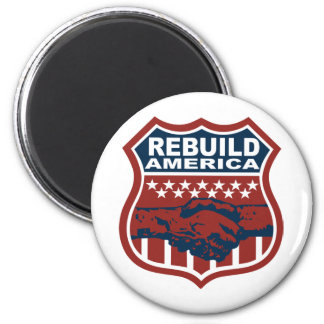 REBUILD AMERICA MAGNET