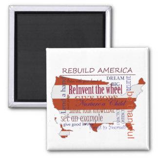 ReBuild America Fridge Magnets