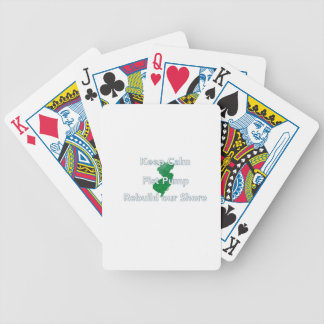 Rebuild the Jersey Shore Bicycle Poker Cards
