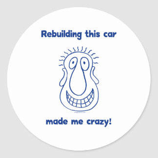 Rebuilding An Old Car Sticker