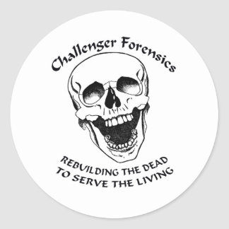 Rebuilding The Dead Round Stickers