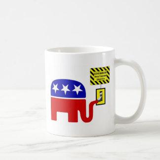Rebuplican Government Shutdown 2011 Coffee Mug
