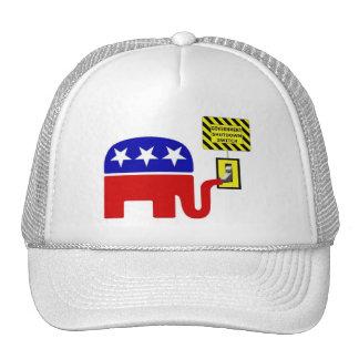 Rebuplican Government Shutdown 2011 Trucker Hat