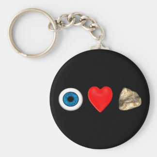 Rebus For Physicists Basic Round Button Keychain