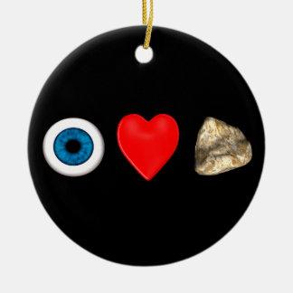 Rebus For Physicists Ceramic Ornament