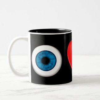 Rebus For Physicists Two-Tone Coffee Mug