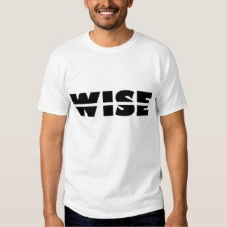 Rebus Puzzle: Wise Crack T-shirt