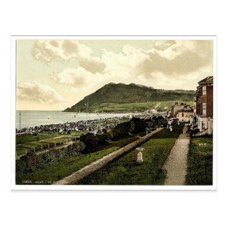 Rebuzne I Co Wicklow Irlanda Photochrom raro Tarjeta Postal