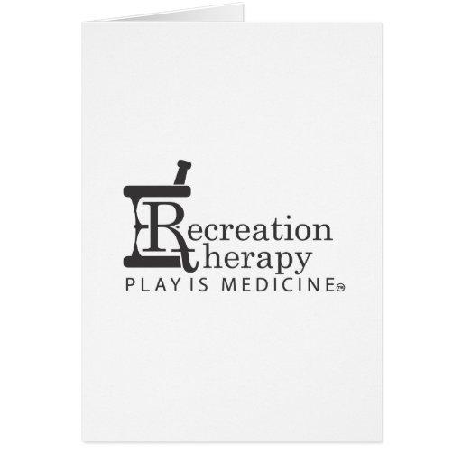 Rec. Engranaje de la terapia Tarjeta De Felicitación