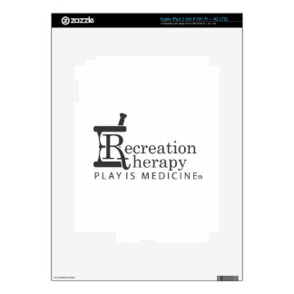 Rec. Therapy gear Decal For iPad 3