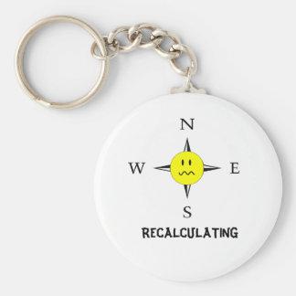 Recalculating Navigation Keychain