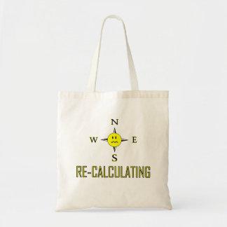 Recalculating Navigation Tote Bag